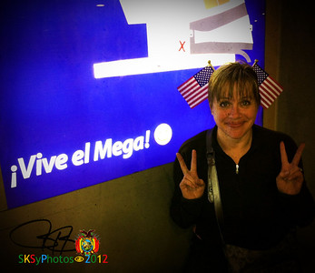 Wendy. American Independence Day in La Paz Supermercado.