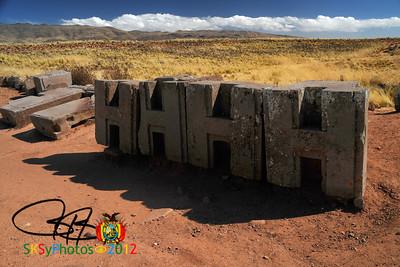 The original 4H club?  Puma Punku at Tiwanaku.  7/5/12