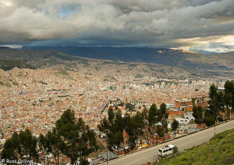 La Paz, Bolivia, January 2005