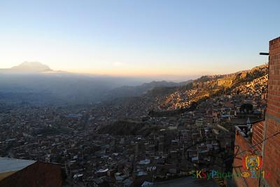 Good morning, La Paz! 4th of July, 2012