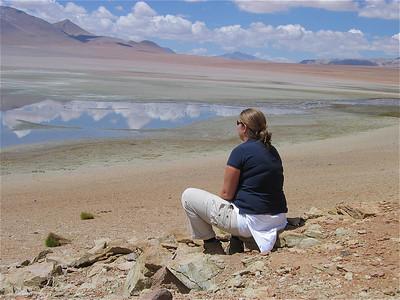 Laguna de Canapa, Bolivia.