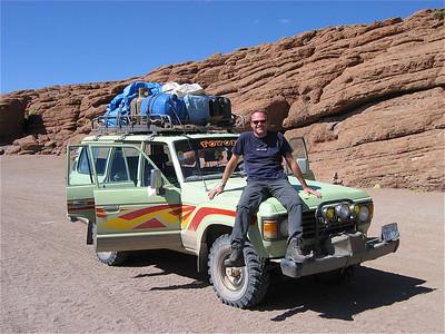 Desierto de Siloli, Bolivia.