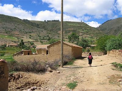 Het straatleven van Molle Mayu, Bolivia.