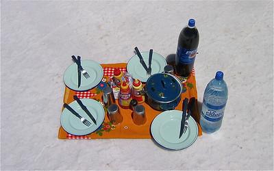 Tafeltje dekje, Salar de Uyuni, Bolivia.