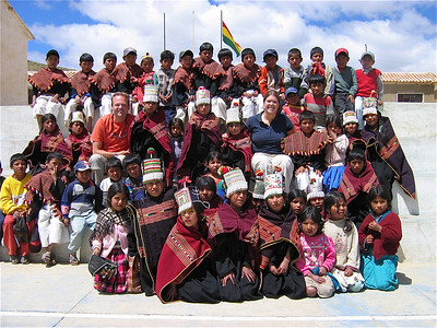 Unicef-project Molle Mayu, Bolivia.