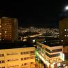 La Paz at night, Bolivia