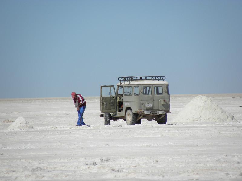 Trabajando la Sal