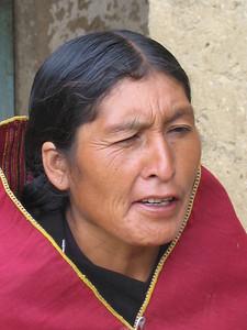 Maria,  Candelaria, Bolivia.