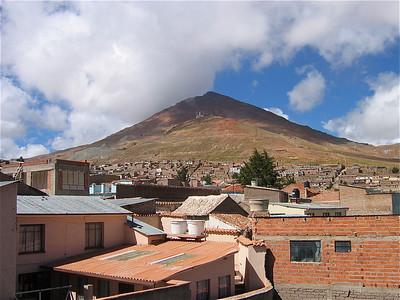 Cerro Rico, Potosi, Bolivia.