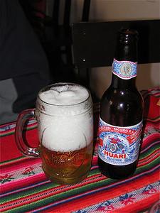 Huari Beer, Bolivia.