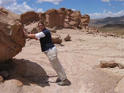 Omgeving Tupiza, Bolivia.