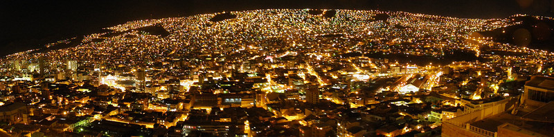 La Paz, la nuit