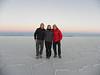 Gustavo, Marie y Luis, Salar de Uyuni