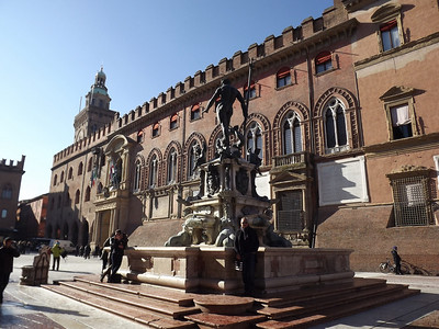 Bologna, Italy - January, 2014