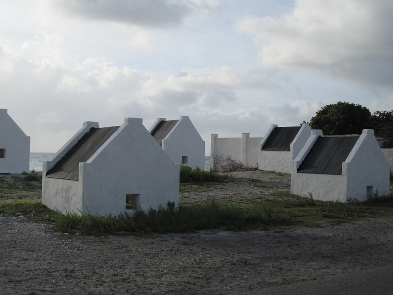 Slave huts, from back when slaves did the salt production