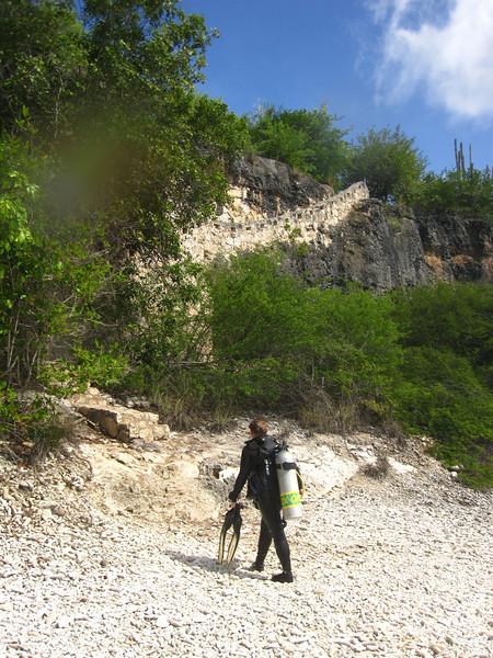 Hike back up