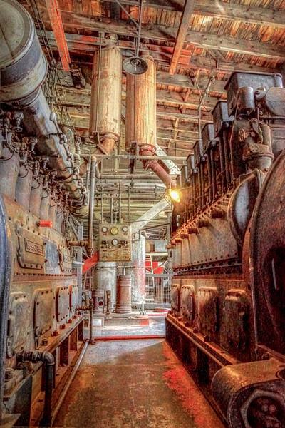 Giant Dredge Engines