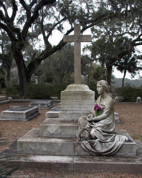 The Corinne Lawton tomb