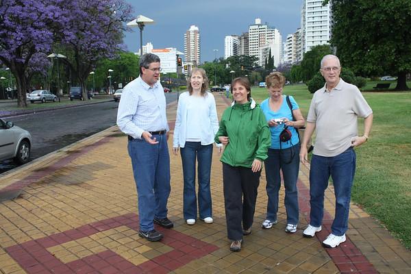 Bonners inlaws in Rosario 2009