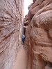 Arches National Park - I'm challenging my claustrophobia