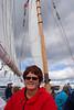 Tourist sailors Boothbay, ME