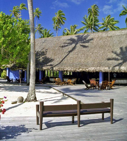 Club Med Bora Bora bar and deck