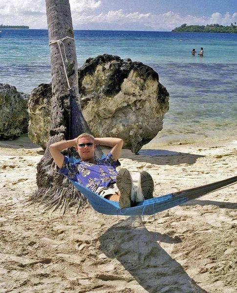 Me enjoying a little tropical rest!