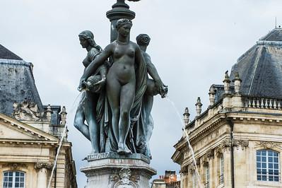 Place de la Bourse, Bordeaux France
