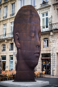Sculpture on Place de la Comédie, Bordeaux, France