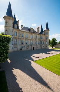 Chateau Pichon Longueville, Bordeaux France