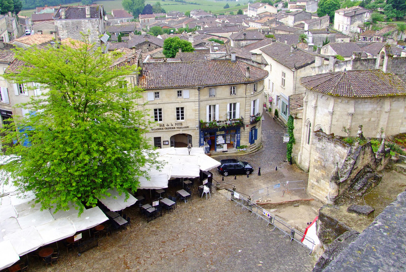 Roof tops of the Village of Saint-Emilion.