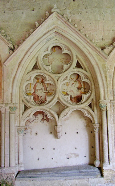 Within the Cloisters are ancient tombs of Holy Men.