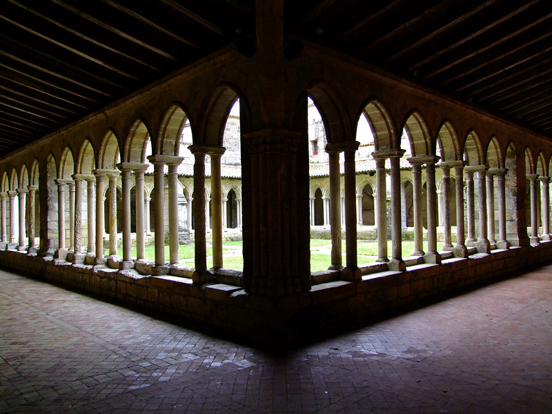 The Cloisters within the cathedral grounds.