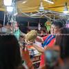 Night street market for locals in Kota Kinabalu, Sabah Malaysia.