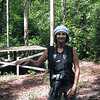 Wendy at Camp Leakey