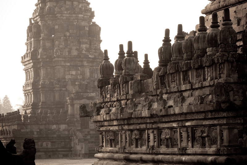 Candi Brahma & Candi Shiva Mahadeva, Prambanan (Loro Jonggrang)