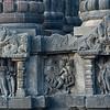 Miniature shrines decorating Candi Shiva Mahadeva, Prambanan (Loro Jonggrang)