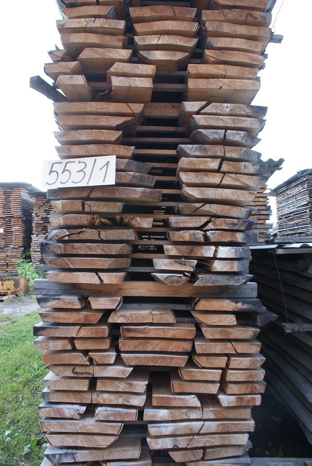 Wood aging.