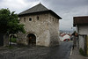 Kula Ploce Tower, Sarajevo, Bosnia-Hercegovina, 13 June 2014.  The tower used to be part of Sarajevo's city wall.  The wall linking it with the Kula Sirokac tower survives.