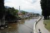 Seher-cehaja's bridge, Sarajevo, Bosnia-Hercegovina, 13 June 2014 2.  Looking west.