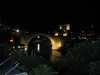 It's a rubbish photo, but this is my first view of the rebuilt Mostar bridge. I didn't expect to stumble on it from where I was walking, so it came as a great surprise, but made me quite emotional.