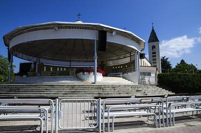 The Exterior Altar