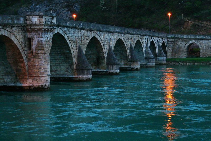 Bridge over the Drina, Visegrad, Bosnia