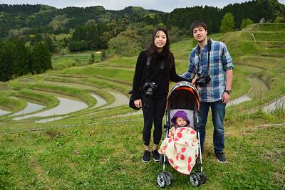 Boso peninsula with Raymon's family