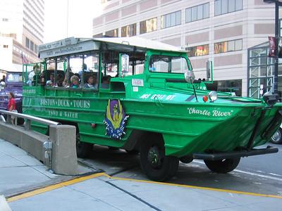Amphibian Tour Bus