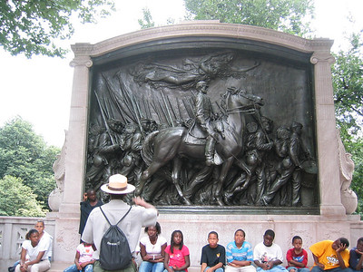 Robert Gould Shaw and 54th Massachusetts Regiment Memorial, Boston