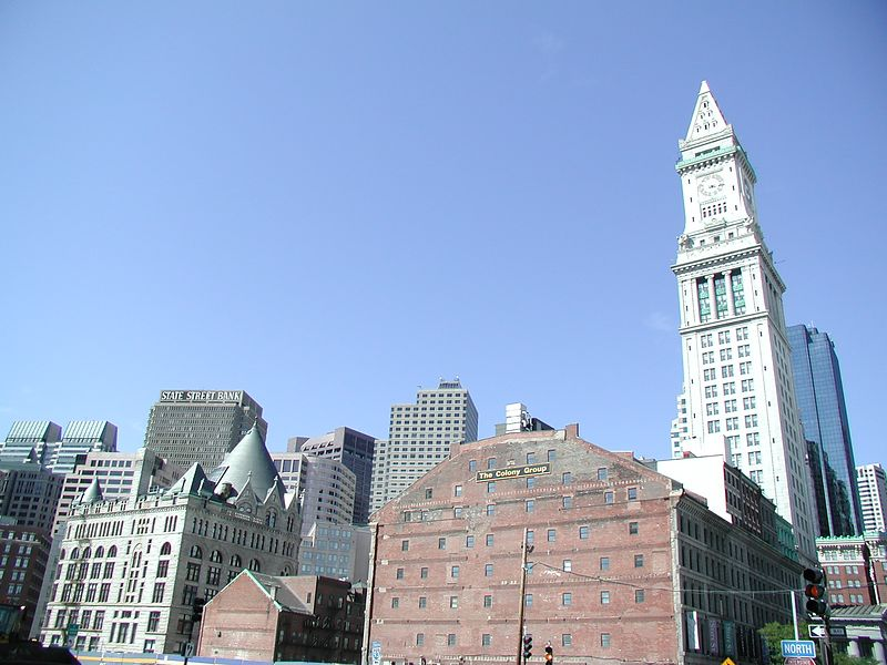 Customs House Clock Tower (and other buildings ;>)