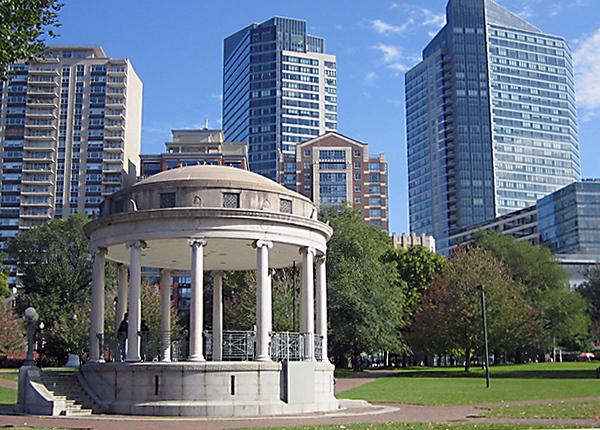 Boston Common View of City