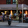 Newbury Street restaurant - the restaurants here were mostly in the basement and patios of old brick buildings from the 19th/early 20th century