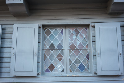 240 year old window at Paul Revere's House